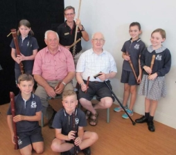 Musicians visit year 4 students